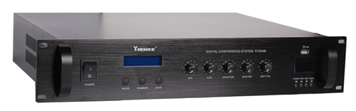 YC824 wired conference system built in speaker
